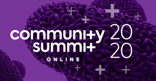 Programação do Community Summit Brasil 2020 - Online Edition
